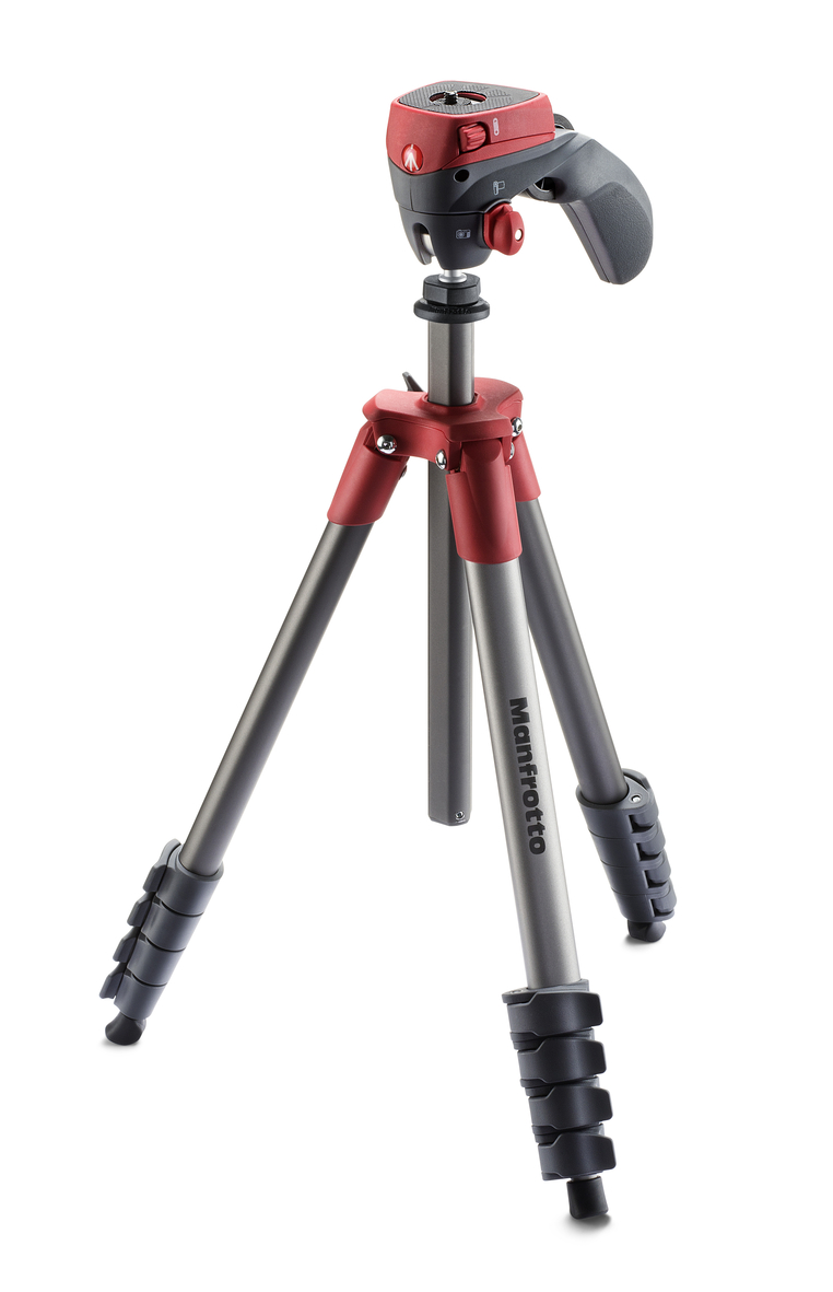 Штатив Manfrotto Compact Action Red (MKCOMPACTACN-RD)