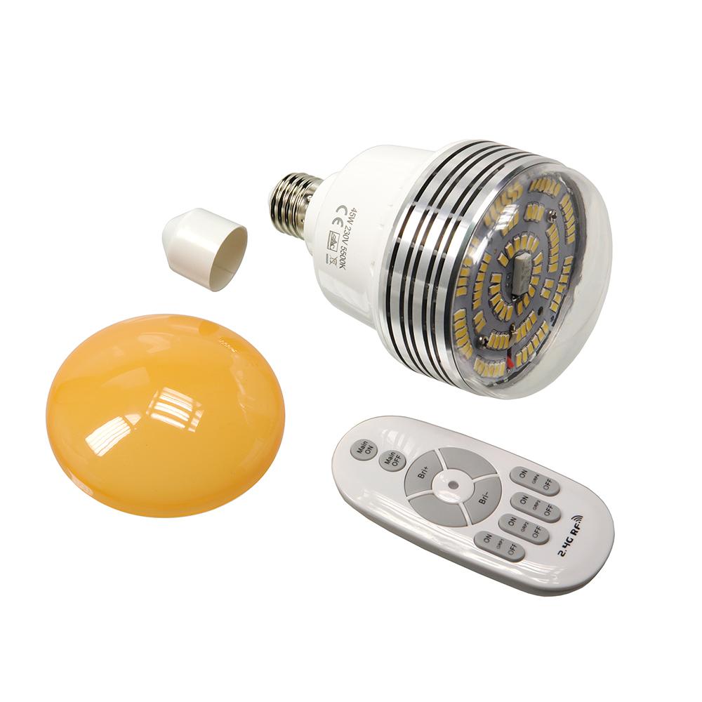 Светодиодная лампа Falcon Eyes miniLight 45 LED (45Вт)  с пультом приобрести по лучшей цене в интернет-магазине Фотошанс.ру